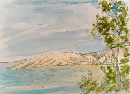 view on Krk