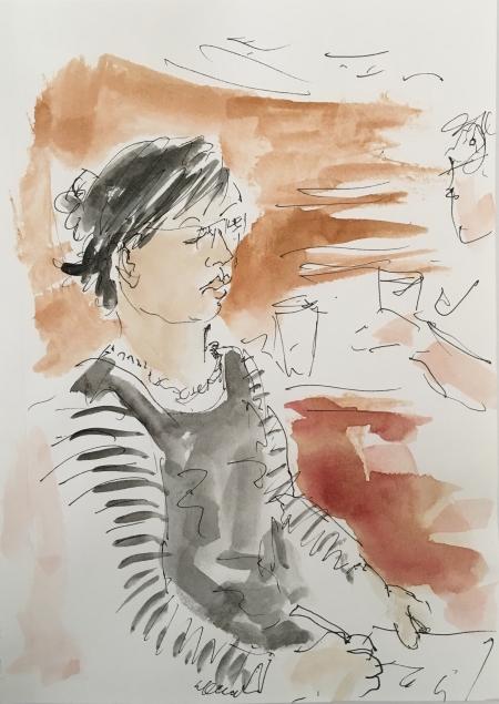 E.sketching